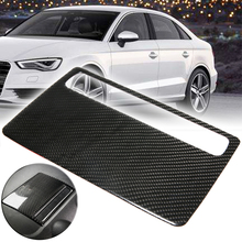 Carbon Fiber Car Inner Console Navigation Screen Frame Cover Trim For Audi A3 S3 2014-2018 Car Styling Accessories free shipping car accessories carbon fiber interior trim fit for 2004 2011 a3 center console cover car stying