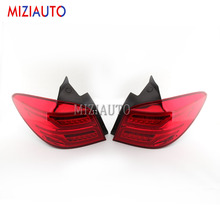 1 Pair Led Rear Tail light For Chevrolet For Cruze hatchback 14 Tail Stop Brake Lights Car Accessories Rear turn signal Fog lamp car styling tail lamp for toyota fj cruiser 2007 2014 taillights tail lights led rear lamp led drl brake park signal stop lamp