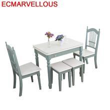 Sandalye Juego Comedor Comedores Mueble Eet Tafel Marmol Tavolo Da Pranzo Pliante Wood Bureau Tablo Mesa De Jantar Dining Table
