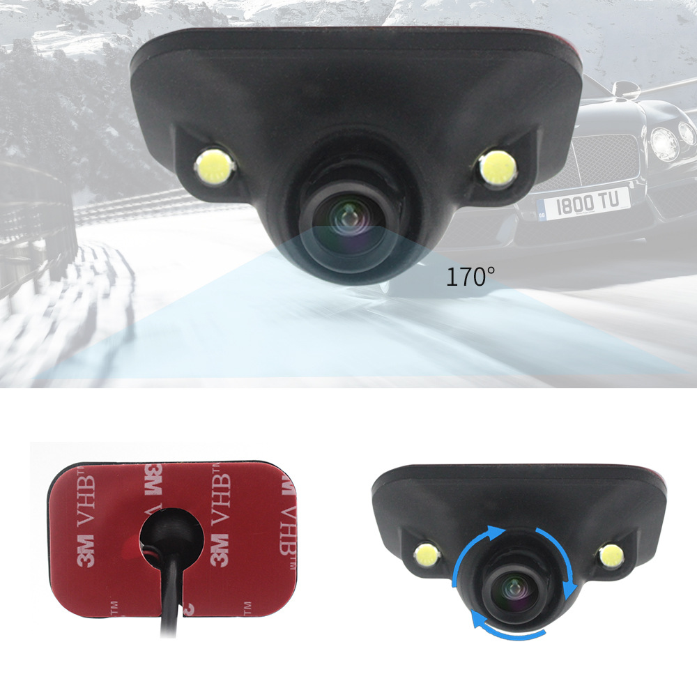 Right Blind Area LED Light Perception Webcam Right Visual Blind Area On Board Camera Lossless Installation Waterproof With Doubl