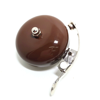 цена Q1065 Bicycle Retro English Bell Ringing Bell Aluminum Silver Coffee Brown Bike Bell vintage wholesale онлайн в 2017 году