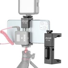 Ulanzi ST 08 sans fil micro support pour téléphone pour RODE sans fil aller avec pince de téléphone de chaussure froide