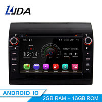 LJDA Android 10.0 Car DVD Player For Fiat Ducato 2009 2010 2011 2012 2013 2014 2015 Citroen Jumper Peugeot Boxer 1 Din Radio GPS