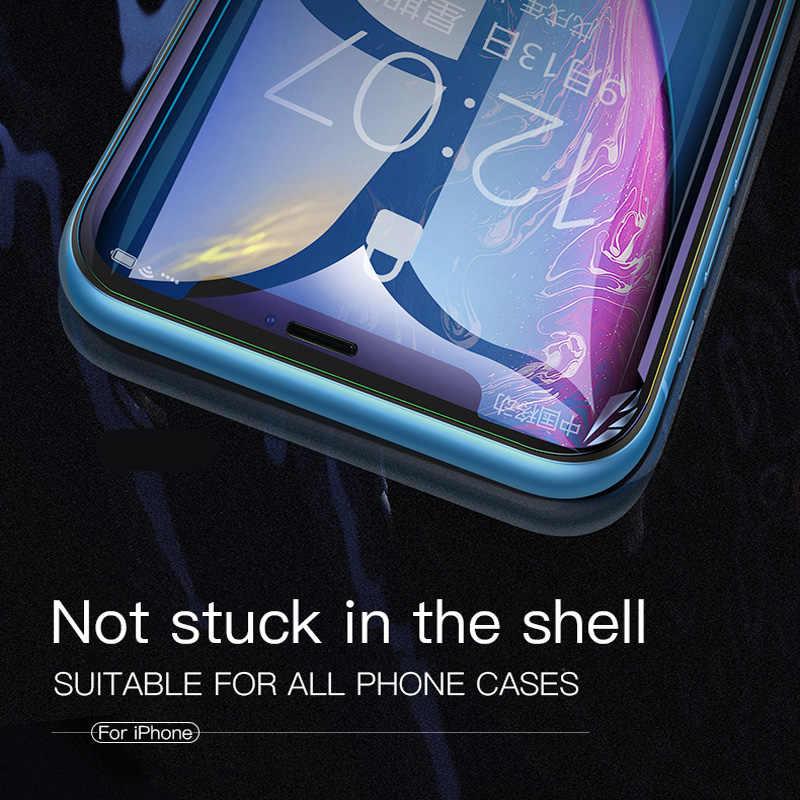 9D กาวสำหรับ iPhone 11 PRO MAX สำหรับ iPhone XS XR X XS MAX กระจกนิรภัย iPhone 7 8 6 6S PLUS