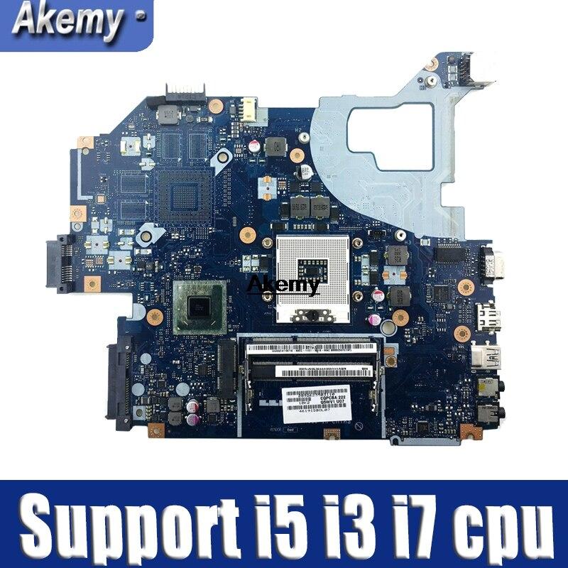 Q5WV1 LA 7912P laptop motherboard for Acer V3 571 for Gateway NV56R E1 571 HM77 HD4000 NBC0A11001 Support i5 i3 i7 cpu
