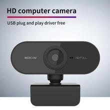 HD Webcam Mic Computer Video-Recording Desktop Work Mini 720p 1080P Rotatable 480p