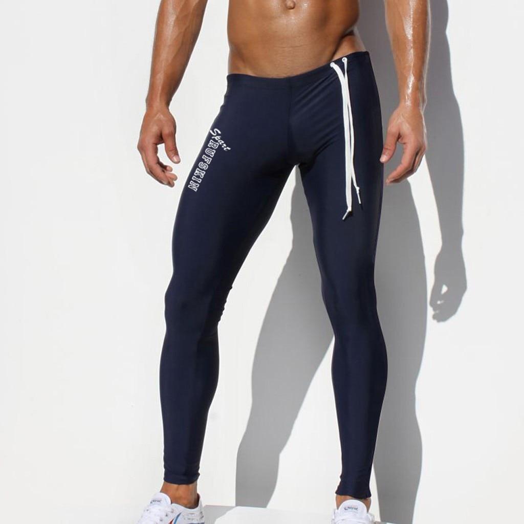 Fitness Running Long Pants Men Bodybuilding Sports Leggings Gym Compression Pants Long Trousers Sport Pants Men #35