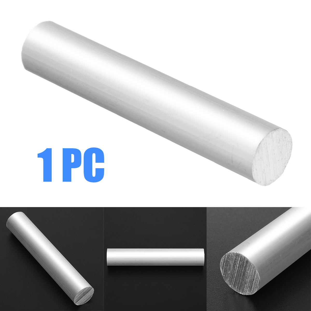1pc High Purity Magnesium Metal Mg Rod 99.99% Mg Magnesium Metal Rod Welding Soldering Rod Bar 16mm X 9cm