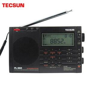 Image 1 - Tecsun PL 660 Airband רדיו רגישות גבוהה מקלט FM/MW/SW/LW דיגיטלי כוונון סטריאו עם קול חזק ורחב קבלת טווח