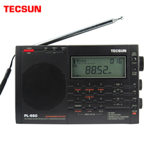 Tecsun PL 660 에어 밴드 라디오 고감도 수신기 FM/MW/SW/LW 시끄러운 소리와 넓은 수신 범위가있는 디지털 튜닝 스테레오