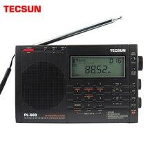 Tecsun PL 660 odbiornik radiowy o wysokiej czułości FM/MW/SW/LW Tuning cyfrowy Stereo z głośnym dźwiękiem i szerokim zakresem odbioru