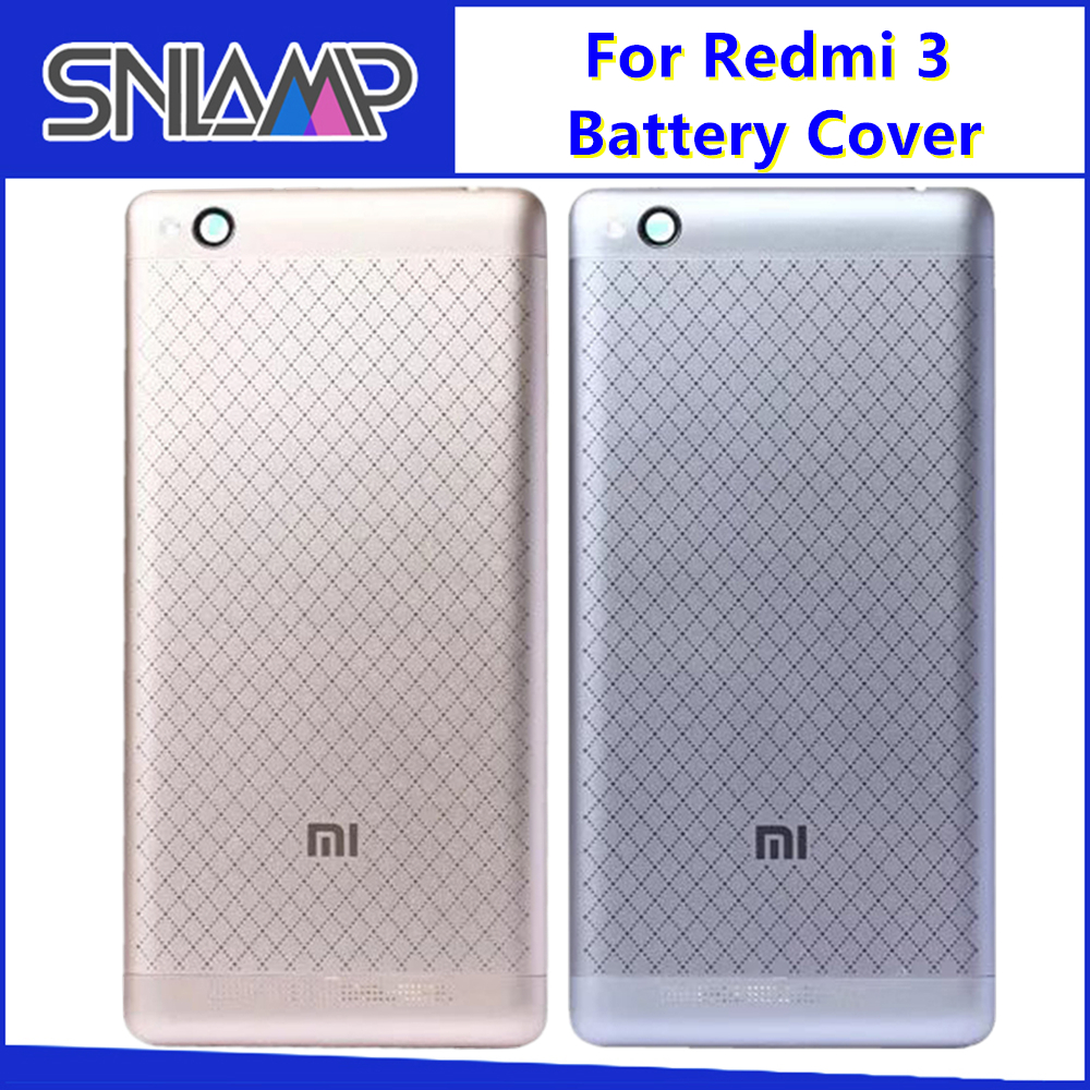 for Xiaomi <font><b>Redmi</b></font> <font><b>3S</b></font> <font><b>Battery</b></font> <font><b>Cover</b></font> Rear Door Back Housing Case Middle Chassis Replacement For Xiaomi <font><b>Redmi</b></font> 3 <font><b>Battery</b></font> <font><b>Cover</b></font> image