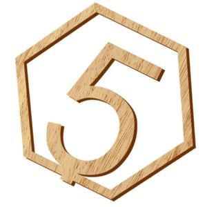 Image 2 - 1 20 מספרי עץ סימני חתונה משושה שולחן מספר עץ שולחן מספרים כפרי חתונה אירוסין מושב מספרי סימן