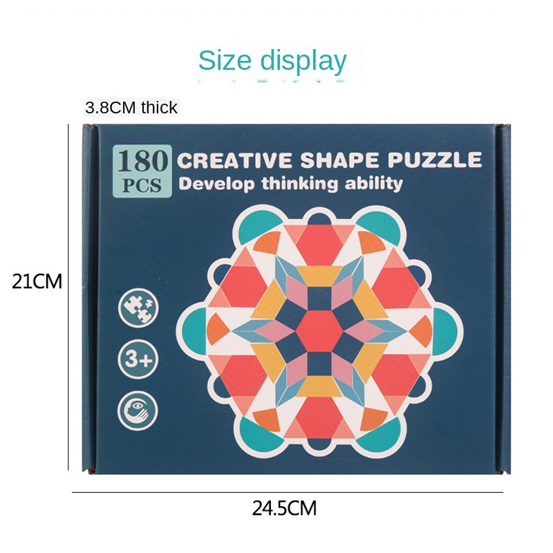 New Kids Wooden 3D Jigsaw Puzzle Clever Board Baby Montessori Educational Learning Toys for Children Geometric Shape Puzzles Toy 6