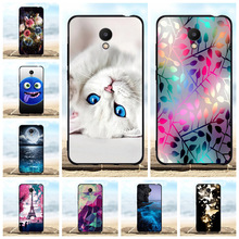 For Meizu M6 Phone Case Ultra-slim Soft TPU Silicone For Meizu M6 Meiblue 6 Cover Cartoon Patterned For Meizu M6 Meilan 6 Shell vernee m6 4g phablet