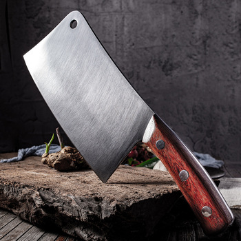 8″ Chop Bone Knife Heavy Duty Bone Chopping Knife Stainless Steel Chef Knife Vegetables Butcher Knife Meat Cleaver Kitchen Knife Butcher Knife Chopper Home & Garden Home Garden & Appliance Kitchen Knives & Accessories Kitchen, Dining & Bar Meat Cleaver Multifunctional Knife Color: Chop Bone Knife Kitchen Knife Size: 8 inch