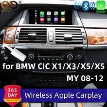 Sinairyu Wi-Fi беспроводной Apple Carplay автомобиль играть для BMW CIC X1 X3 X5 X6 E70 E71 E84 F25 Android зеркало поддержка сзади спереди см