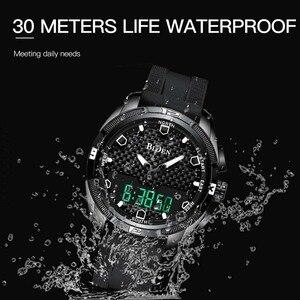 Image 4 - Relogio Masculino męskie sportowe zegarki kwarcowe cyfrowy zegarek led w stylu wojskowym mężczyźni Casual elektronika zegarki na rękę Relojes