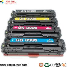 Compatible HP CF540A CF541A CF542A CF543A CF540 to