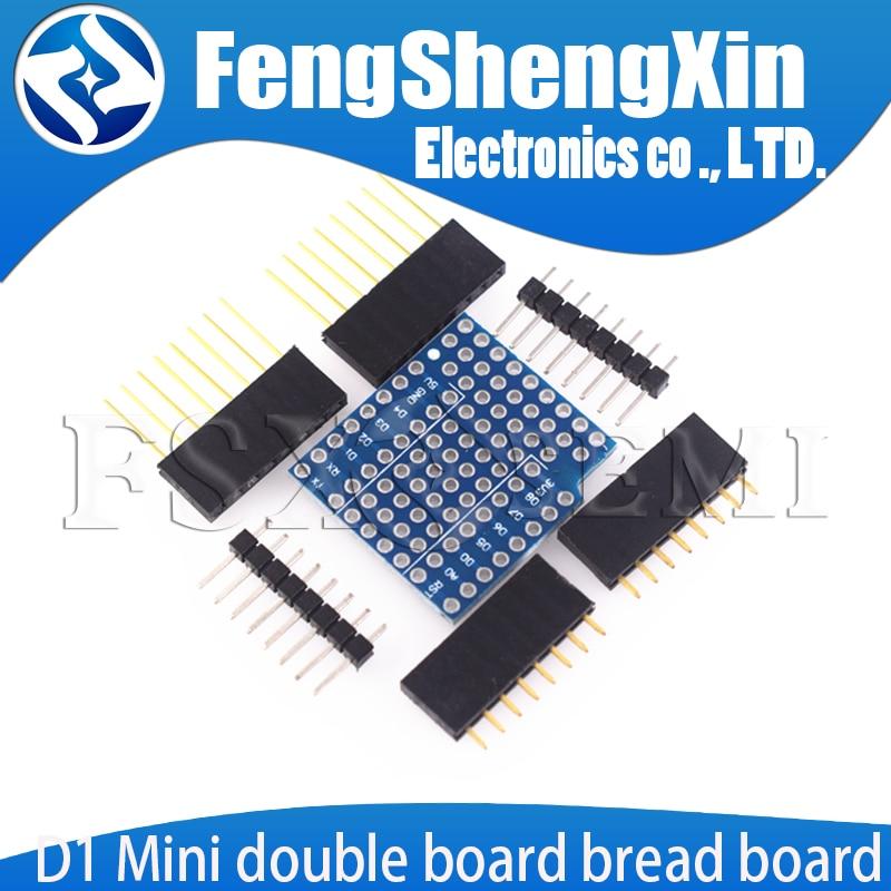 D1 миниатюрная двойная доска для хлеба, макетная доска для Интернета вещей, расширенная версия для D1MINi