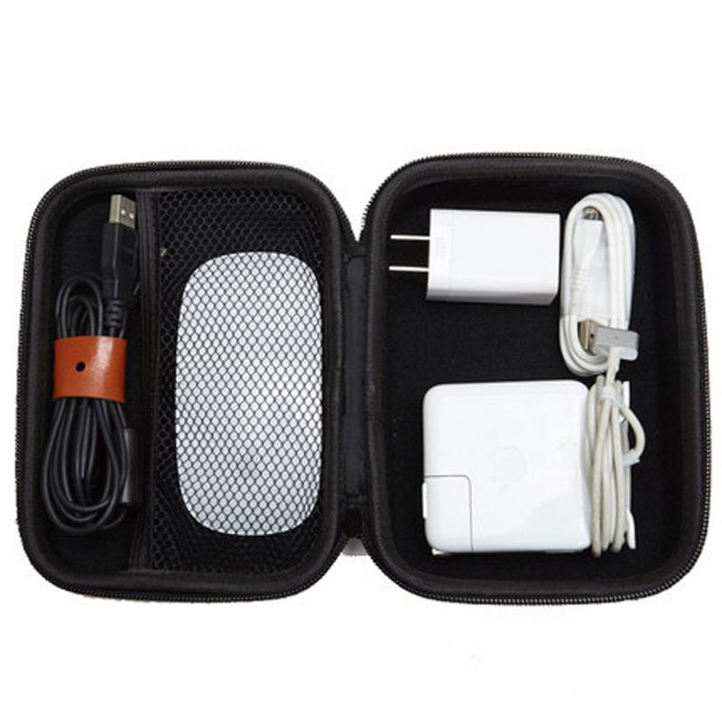 EVA Hard Case For Apple Pencil Magic Mouse Magsafe Power Adapter Carry Case N0HC