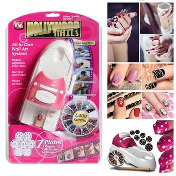 Nail Art Printer Set Perfect pattern Press On Nails Manicure Machine Stamper Tool Automatic Printing Equipment