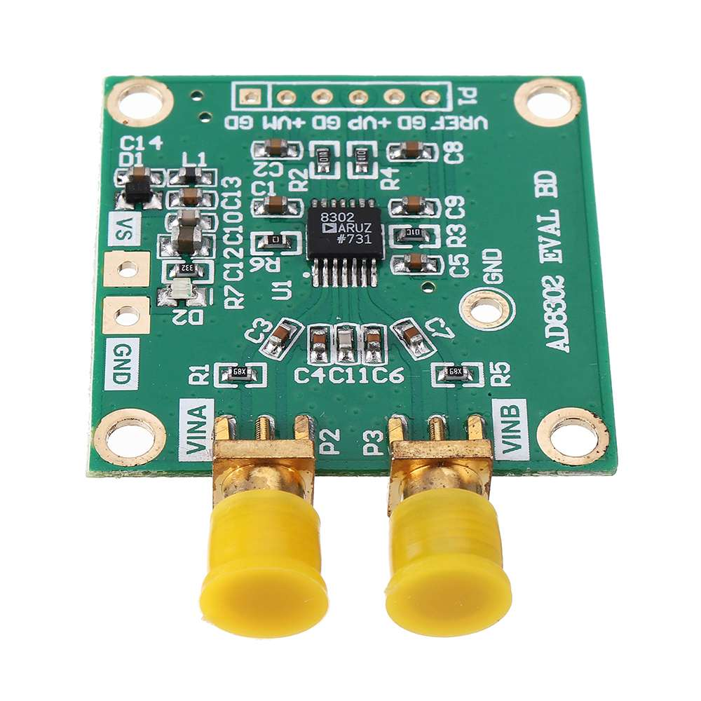 AD8302 Wideband Amplitude Phase Detection Impedance Analysis Module Amplifier Filter Mixer Loss and Phase Measurement image