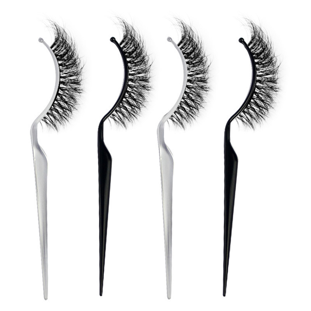 5 Pcs Bendable Grafting Eyelashes Auxiliary Tool False Eyelashes Extension Holder 2 Colors Display Stick Natural False Eyelashes