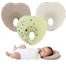 Baby Pillow Anti Flat Head Stereotypes Pillows Infant Head Protection Cushion For Toddler Sleep Support