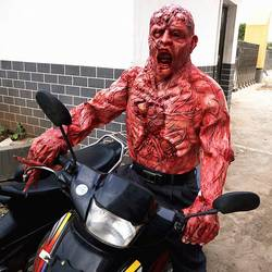 Halloween Horror Masker Zombie Maskers Party Cosplay Bloody Walgelijk Rot Gezicht Scary Masque Mascara Terreur Masker Latex