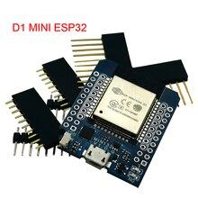 D1 mini esp32 ESP 32 wifi + bluetooth internet das coisas, placa de desenvolvimento baseado em esp8266, totalmente funcional