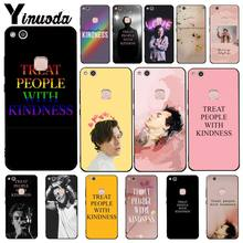 Yinuoda Harry Styles Treat people with kindness Phone Case for Huawei Y5 II Y6II Y5 Y6 Y7Prime Y9 2018 2019(China)