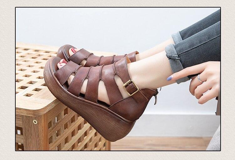 sapatos femininos sandálias plataforma cunhas sapatos verão mulher moda sandálias casuais