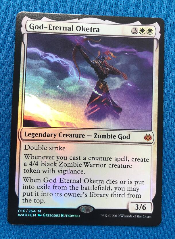 God-Eternal Oketra WotS Foil Magician ProxyKing 8.0 VIP The Proxy Cards To Gathering Every Single Mg Card.