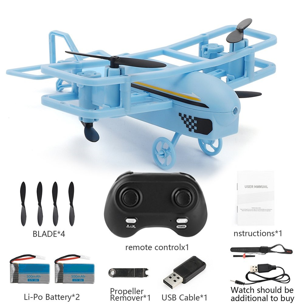 Mini RC Helicopter H95 Drone 2.4G 360 degree Roll Glider RC Airplane Headless Mode Remote Control Quadcopter RC Plane toys