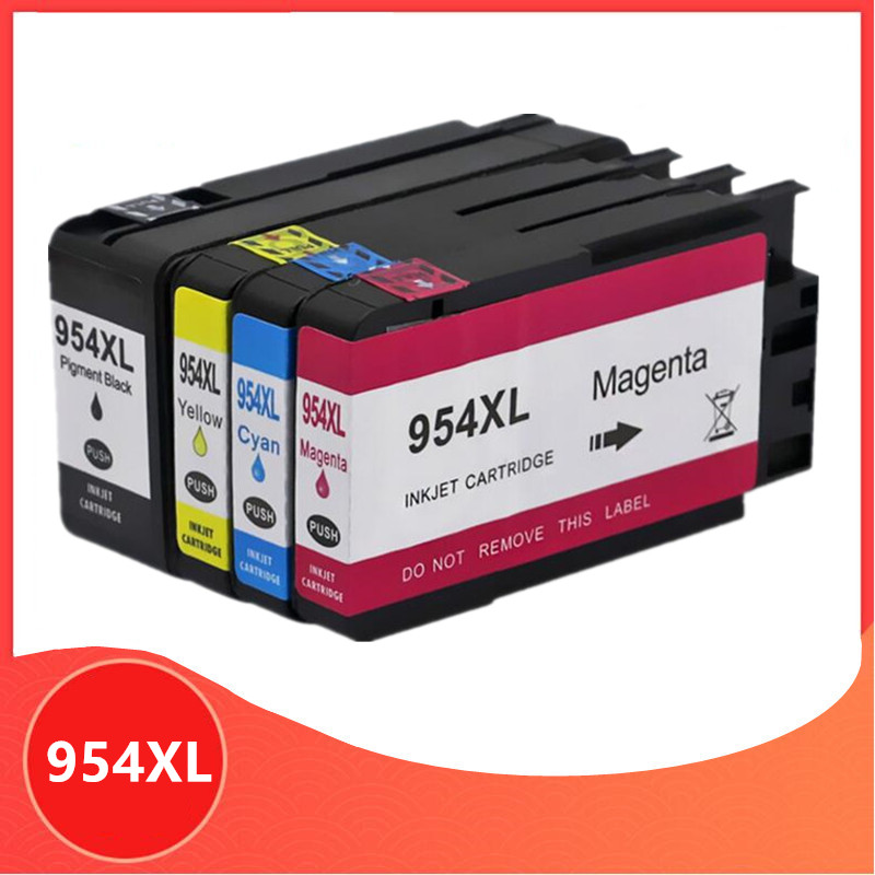 Compatible For Hp954 Ink Cartridge 954 XL 954XL For HP OfficeJet Pro 7740 8710 8715 8720 8730 8740 8210 8216 8725 Printer