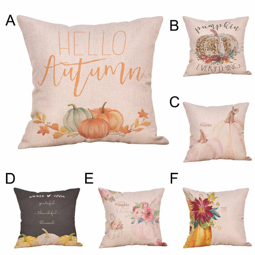 45x45cm Halloween oreillers couverture décor Halloween taies d'oreiller Polyester canapé fermeture éclair cachée housse de coussin décor à la maison