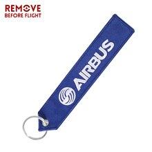Автомобильный брелок с вышивкой, брелок для ключей AIRBUS, брелок для ключей на мотоцикл, багажная сумка для путешествий, бирка, подарок для летного экипаж, пилот, авиационный Подарочный ремень