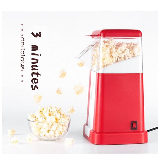 220v Household Popcorn Makers Hot Air Corn Popper Suitable For Diy Electric Popcorn Popper Mini Popcorn Machine Appliances Consumer Electronics
