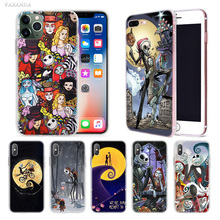 Nightmare before Christmas Case for Apple iphone 11 Pro XS Max XR X 7 8 6 6S Plus 5 5S SE 5C Silicone Phone Cover Coque Carcasa ayrton senna case for apple iphone 11 x xr xs max 7 8 6 6s plus 5 5s se 5c black silicone cobrir phone cover coque
