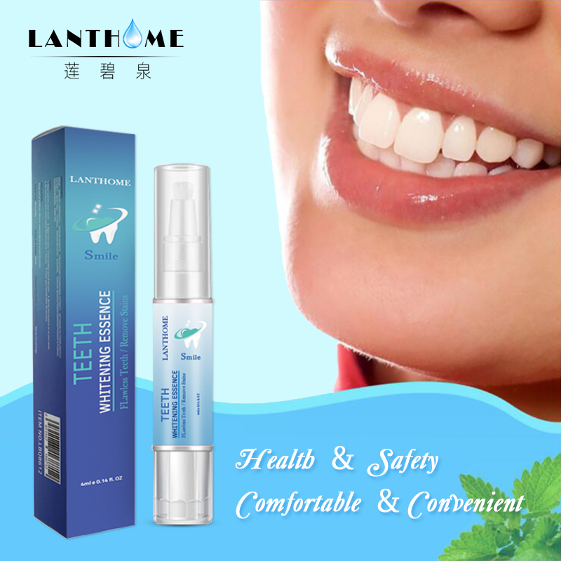 3D White Teeth Whitening Pen Tooth Gel Whitener Bleach Instant Smile Pro Nano Teeth Whitening Remove Stains Oral Hygiene TSLM1