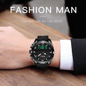 Image 5 - Relogio Masculino męskie sportowe zegarki kwarcowe cyfrowy zegarek led w stylu wojskowym mężczyźni Casual elektronika zegarki na rękę Relojes