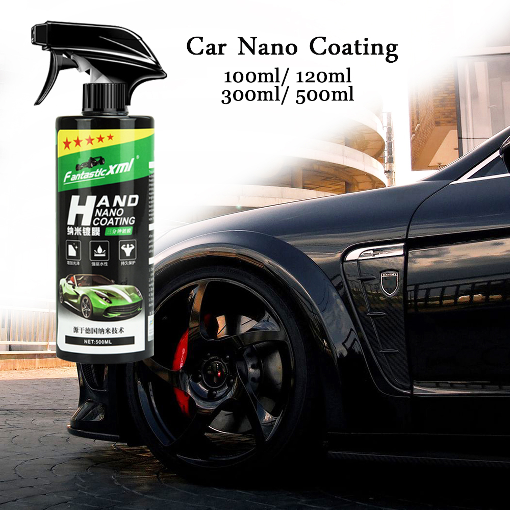 Spray Ceramic Car Top Coating Sealant Repellent Nano Glass Polishing Plated Crystal Liquid Hydrophobic Coating Waterproof Agent