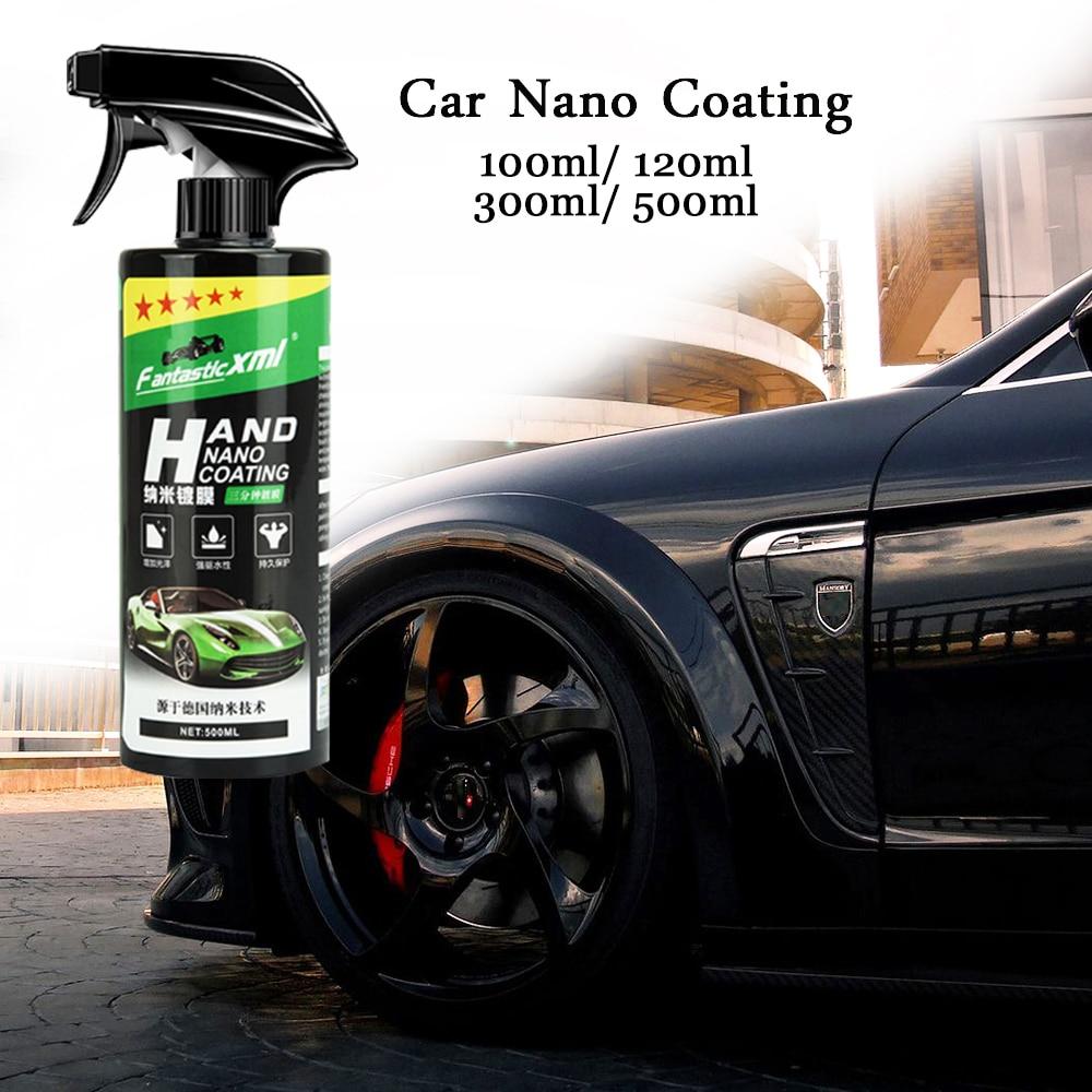 Spray Ceramic Car Top Coating Sealant Repellent Nano Glass Polishing Plated Crystal Liquid Hydrophobic Coating Waterproof Agent