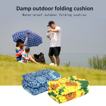 Outdoor Beach Picnic Folding Camping Mat Multiplayer Waterproof Sleeping Camping Pad Mat Moistureproof Beautiful Blanket image