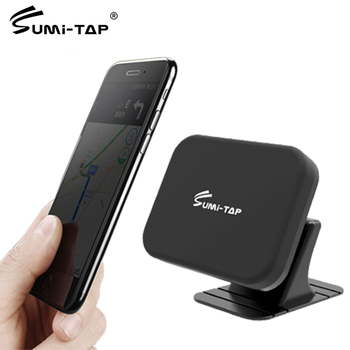 Sumi-tap Magnetic Car Phone Holder Dashboard Magnet Support 360 Degree Universal GPS Car Sucker Bracket Mount Mobile Phone Stand