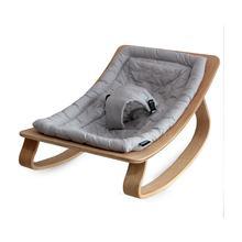 Natural Wood Dangle Baby Sleeping Bed Main Lap Rocking Chair Baby 0-36 Moon Swing Sedative