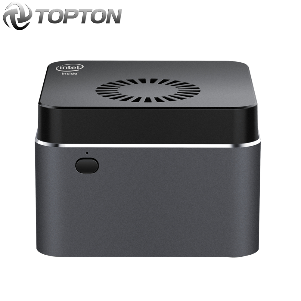 TOPTON Intel Mini Smallest Celeron N4100 LPDDR4 Windows-10 PC HDMI2.0 Wifi Quad-Core