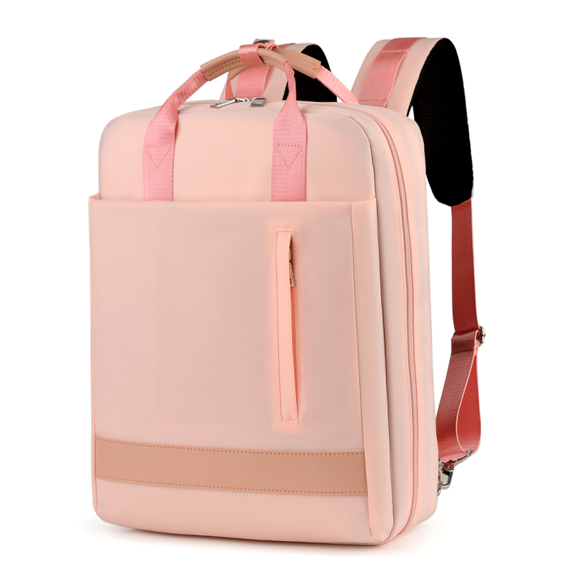 2019 Women USB Charge Laptop Backpack Bag 15 15.6 inches Notebook PC Tablet Knapsack Daypack for Macbook Dell HP HUAWEI image