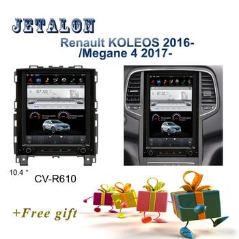 "PX6 Smart 10.4"" IPS Screen Tesla Navigation For Renault Koleos Android Car radio Megane 4 2017 GPS video recorder Car Multimedia"